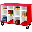 Mobile Cubby Storage