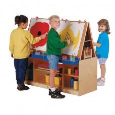 Jonti-Craft® 4 Station Art Center - ThriftyKYDZ®