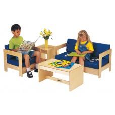 Jonti-Craft® Living Room Easy Chair - Blue