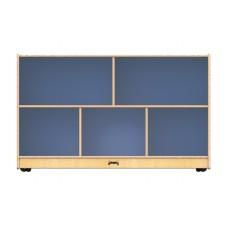 Jonti-Craft® Low Single Mobile Storage Unit – Gray