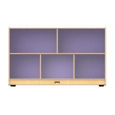 Jonti-Craft® Low Single Mobile Storage Unit – Lilac