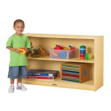Jonti-Craft® Low Mobile Straight-Shelf