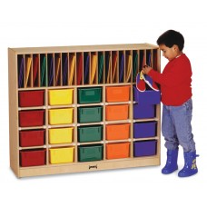 Jonti-Craft® Classroom Organizer - with Colored Trays