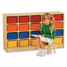 Jonti-Craft® 20 Cubbie-Tray Mobile Storage - without Trays - ThriftyKYDZ®