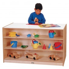 Jonti-Craft® Mobile Storage Island - without Trays - ThriftyKYDZ®