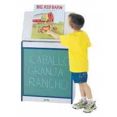 Rainbow Accents® Big Book Easel - Chalkboard - Red