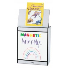 Rainbow Accents® Big Book Easel - Magnetic Write-n-Wipe - Navy