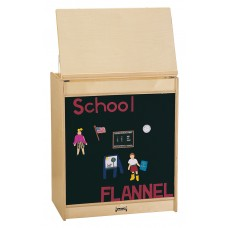 Jonti-Craft® Big Book Easel - Flannel - ThriftyKYDZ®