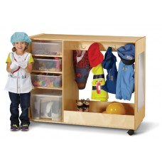 Jonti-Craft® Dress-Up Center  with Bins