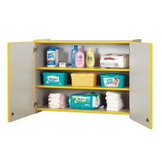 Rainbow Accents® Lockable Wall Cabinet - Green