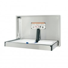 Surface mount full stainless steel changing station - horizontal mount - Stainless Steel - N/A