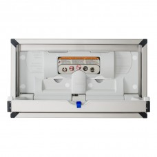 Recessed stainless changing station Horizontal  - Stainless Steel - N/A