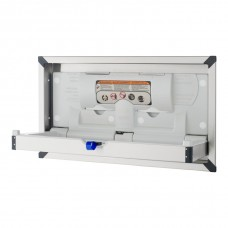 Surface mount stainless changing station Horizontal - Stainless Steel - N/A