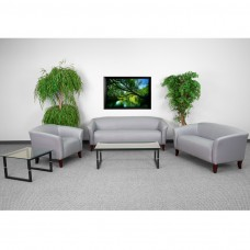 HERCULES Imperial Series Reception Set in Gray [111-SET-GY-GG]