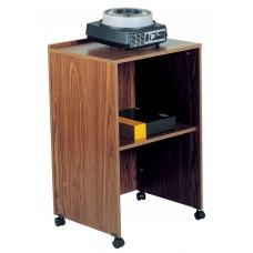 AV Cart/Lectern Base (Medium Oak)