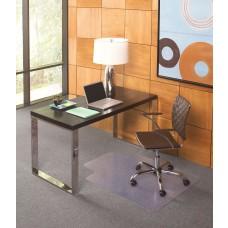 36x48 Lip 20x10 Flat to Low Pile Carpet Straight Edge