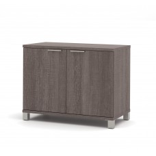 Pro-Linea 2-door Storage Unit in Bark Gray