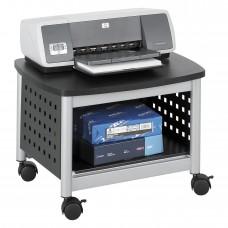 Scoot™ Underdesk Printer Stand - Black/Silver
