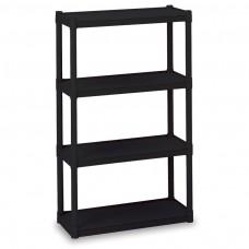 4 Shelf Rough 'N Ready - Black