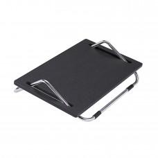 """Ergo-Comfort® 5""""H Adjustable Footrest (Qty. 5) - Black/Chrome"""