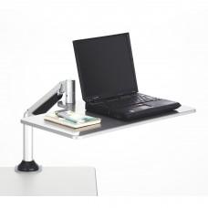 Desktop Sit/Stand Laptop Workstation - Silver
