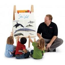 Jonti-Craft® Teachers' Standard Easel - Chalkboard