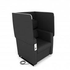 Morph Series Soft Seating Chair, Midnight