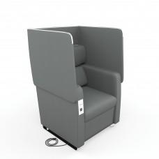 Morph Series Soft Seating Chair, Slate Gray