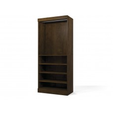 "Pur by Bestar 36"" Storage unit in Chocolate"