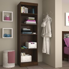 "Pur by Bestar 25"" Storage unit in Chocolate"