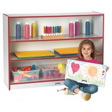 Rainbow Accents® Super-Sized Adjustable Bookcase - Orange