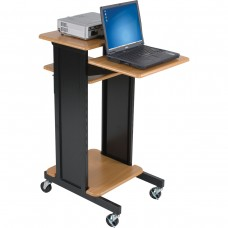 Presentation Cart (Teak / Black)