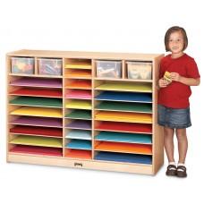 Jonti-Craft® Mobile Paper Center