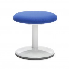 "Orbit Series Static Stool 14"" High - Fabric, Blue"