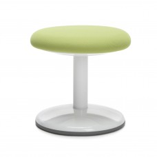 "Orbit Series Static Stool 14"" High - Fabric, Green"