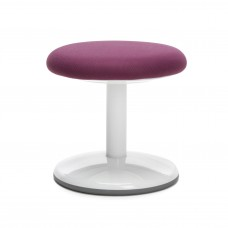 "Orbit Series Static Stool 14"" High - Fabric, Purple"