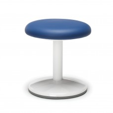 "Orbit Series Static Stool 14"" High - Vinyl, Blue"