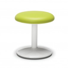 "Orbit Series Static Stool 14"" High - Vinyl, Green"