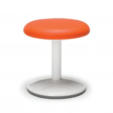 "Orbit Series Static Stool 14"" High - Vinyl, Orange"
