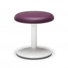 "Orbit Series Static Stool 14"" High - Vinyl, Purple"