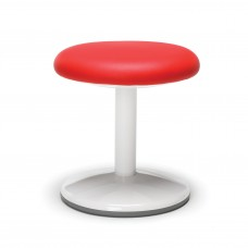 "Orbit Series Static Stool 14"" High - Vinyl, Red"