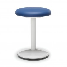 "Orbit Series Active Stool 18"" High - Vinyl, Blue"