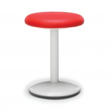 "Orbit Series Active Stool 18"" High - Vinyl, Red"