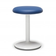 "Orbit Series Static Stool 18"" High - Vinyl, Blue"