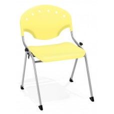 Rico Stack Chair, Yellow