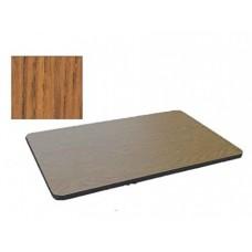 Bar & Cafe Table Parts-TOP ONLY - 30x48 - Medium Oak