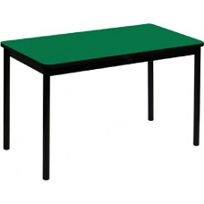 """High Pressure Lab Table-36"""" Height - 36""""x72"""" - Green"""