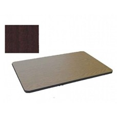 Bar & Cafe Table Parts-TOP ONLY - 30x48 - Mahogany