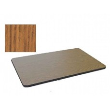 Bar & Cafe Table Parts-TOP ONLY - 30x42 - Medium Oak