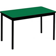 """High Pressure Lab Table-36"""" Height - 30""""x72"""" - Green"""